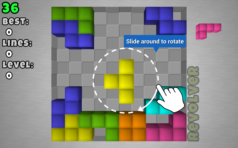 TetroCrate 3D: Brick Game- screenshot