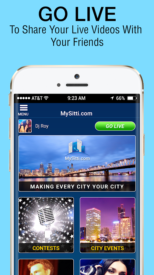 MySitti- screenshot