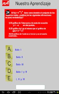 PSU Matemática Prueba Ensayo screenshot 2