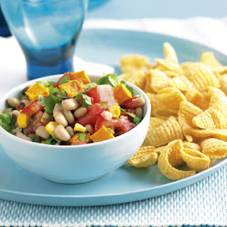 Bean, Corn and Squash Salsa