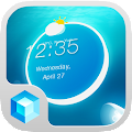 Jellyfish Hola 3D Theme 1.0.4 icon