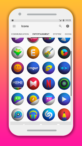 Wenrum - Icon Pack Applications pour Android screenshot
