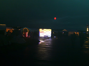 Photo: art and moon