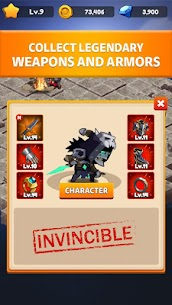Rogue Idle RPG: Epic Dungeon Battle Mod Apk (Unlimited Gold) 3