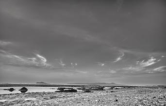 Photo: Portmarnock Strand Dublin B&W