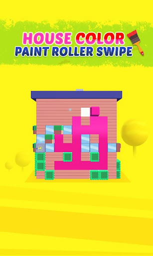 House Color Paint Roller Swipe - Maze Painting 1.0 screenshots hack proof 1
