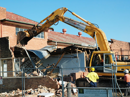 Narrabri Catholic Hall demolition