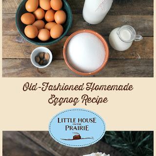 Old-Fashioned Homemade Eggnog