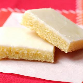 Lemon Poundcake Squares.