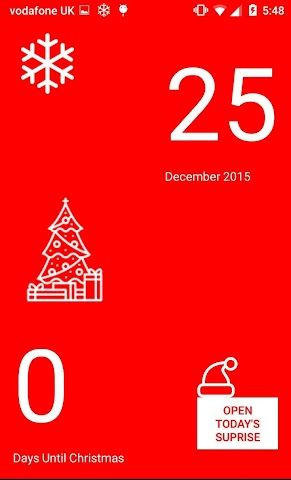 android Christmas Calendar 2015 Screenshot 2