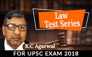 Law Test Series For UPSC Mains 2019