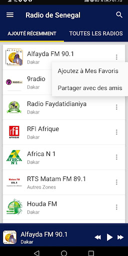 Senegal Radio Stations screenshot 2