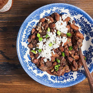 Instant Pot Red Beans and Rice.