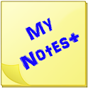 My Notes+ icon