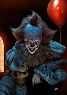 Pennywise 2017 Wallpaper - náhled