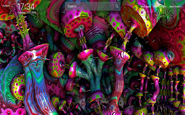 Psychedelic Wallpapers New Tab