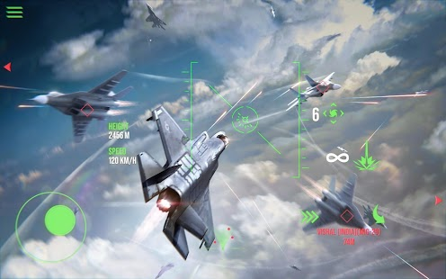 Modern Warplanes: Sky fighters PvP Jet Warfare Screenshot