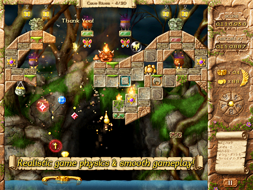 Fairy Treasure - Brick Breaker - screenshot