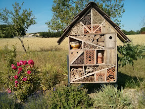 Photo: Bug hotel. On the side of a road in France.