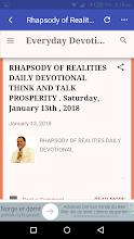 Rhapsody of Realities screenshot thumbnail