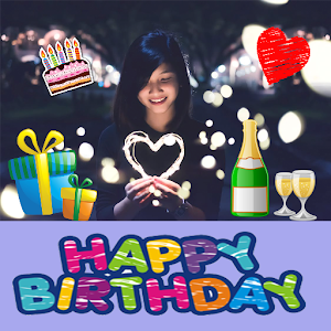 Tải Happy Birthday Stickers Pack Editor To Make Card APK
