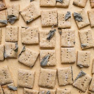 Savory Oat Crackers