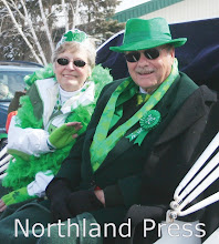 Photo: Grand Marshals Nancy and Roger Schwieters enjoyed taking part in the festivities - photo by Paul Boblett