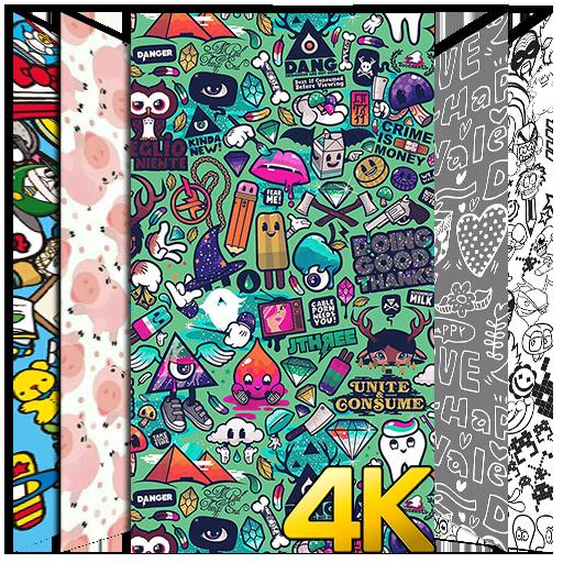 Doodle Wallpaper Hd 4k Aplikacionet Ne Google Play