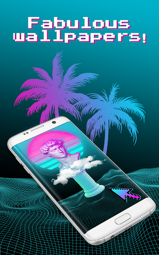Vaporwave Live Wallpapers Aesthetic Backgrounds App Store Data