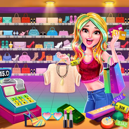 Shopping Mall Girl Cashier Game 2 - Cash Register