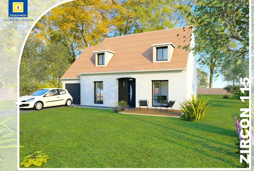 Vente Terrain + Maison - Terrain : 544m² - Maison : 95m² à Rozay-en-Brie (77540)