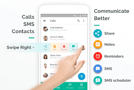 Rolo:  Dialer, SMS & Contacts Screenshot