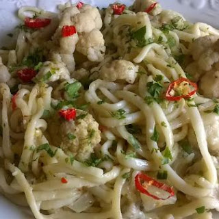Cauliflower Pasta.
