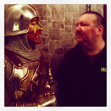 Photo: asoning with Camelot #intercer #miniatureworld #museum #victoria #britishcolumbia #canada #warrior #knight #life #ShopFunkyYYJ #fight #talk #funny - via Instagram, http://ift.tt/1t5yUai