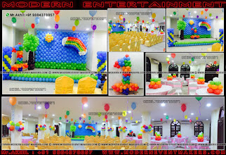 Photo: Rainbow Theme Modern Entertainment is a leading and skilled Event Management Company based out in Chennai, India. We see ourselves as an epitome of brilliance and Beauty. Decorators For Birthday Partys.. and creates Brilliance at our outstanding innovations, design techniques and Beauty with our overall output. Just Ones Step in to Our site to see wonders of creations www.moderneventmakers.com  A Worldclass birthday party organiser in chennnai Mr.Akhil : +91 9884378857  Fa More info Vist :  www.moderneventmakers.com  Mail : moderneventmakers@gmail.com  Feel Free to CAll Us : +919884378857  Home www.moderneventmakers.com