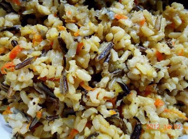 Long Grain And Wild Rice With Veggies Recipe