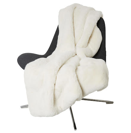 Fluffy Blanket Faux fur 120x180 Ivory