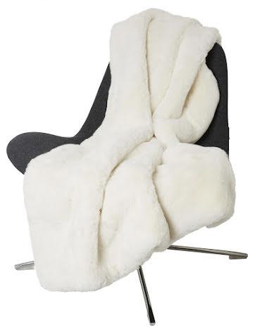Fluffy Blanket Faux fur 120x180 Ivory
