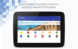 Screenshot of PagineBianche - Who is calling