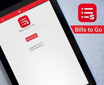 Bills to Go screenshot 6