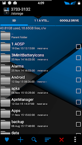 Blu XS CM12-13 Theme screenshot 14