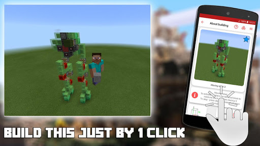 Screenshot for Redstone Builder for Minecraft PE in Hong Kong Play Store