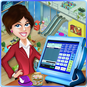 Supermarket Cashier Mania for PC and MAC