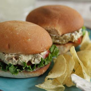 Hickory Smoked Tuna Salad Sandwiches Recipe