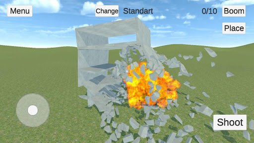 Destructive physics: slowmo demolitions simulation 0.95+ APK MOD screenshots 1