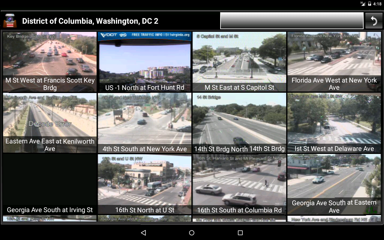 Cameras Washington DC Traffic Android Apps on Google Play
