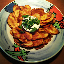 Photo: Después de un largo día nada mejor que.... Papas fritas!