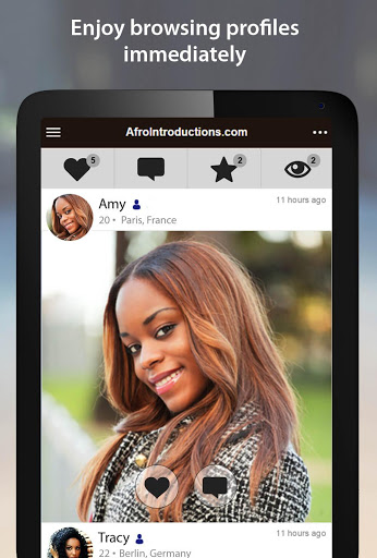 AfroIntroductions - African Dating App screenshots 6