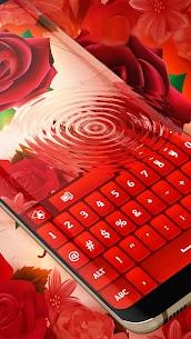 Red Rose Keyboard 2020 4