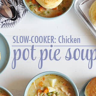 Slow-Cooker Chicken Pot Pie Soup.